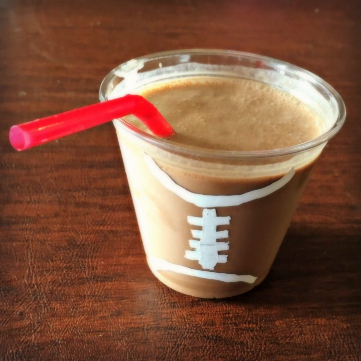 Game Day chocolate smoothie