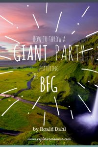 How to throw a giant party