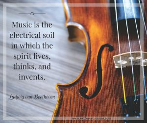 Music quote-Beethoven