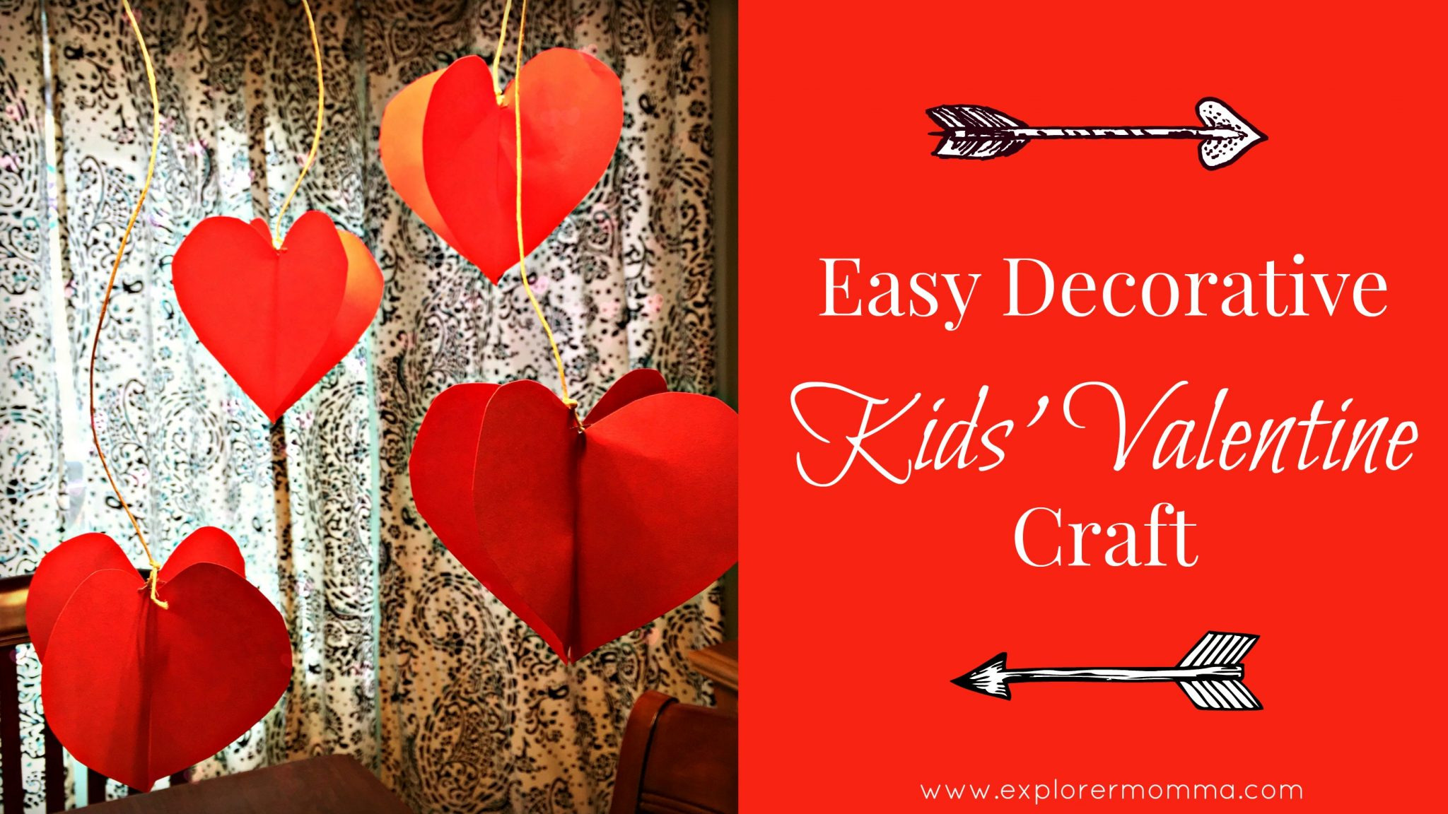 Kids' Valentine craft feature