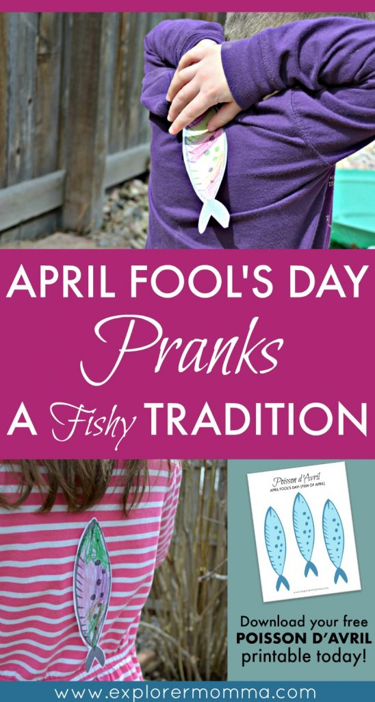 April Fool's Day pranks, Poisson d'Avril, a French tradition