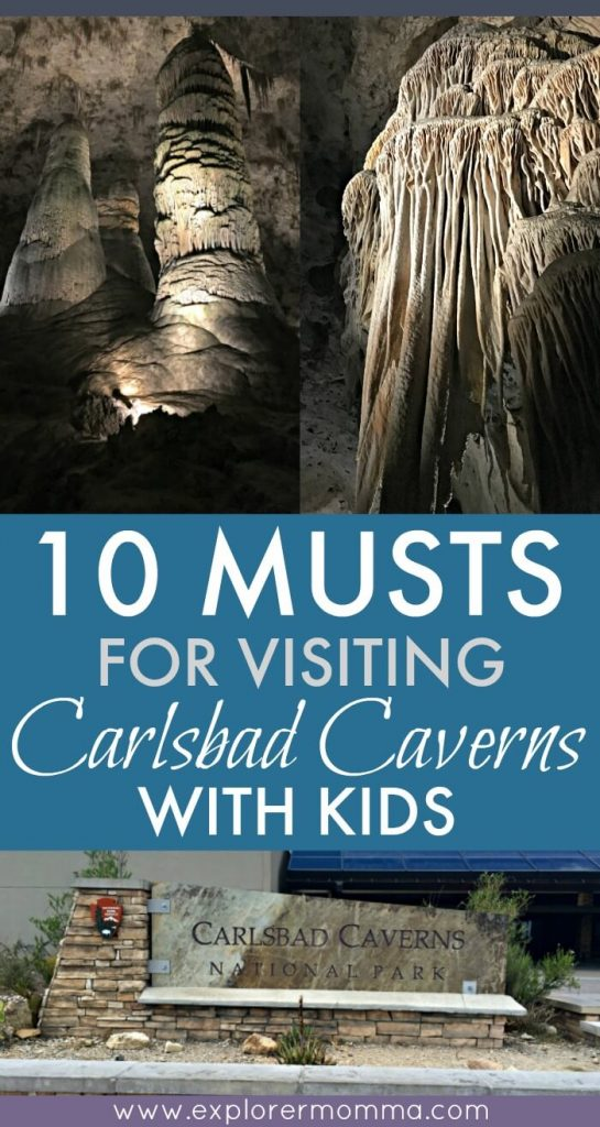 Carlsbad Caverns with kids