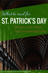 St. Patrick's Day, what to read, Trinity College Library