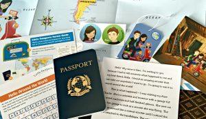 Little Passports close-up