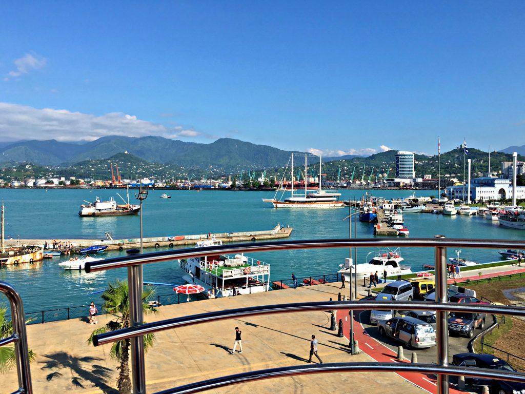 Harbor view from ferris wheel