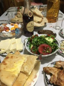 Traditional Georgian Bread supra