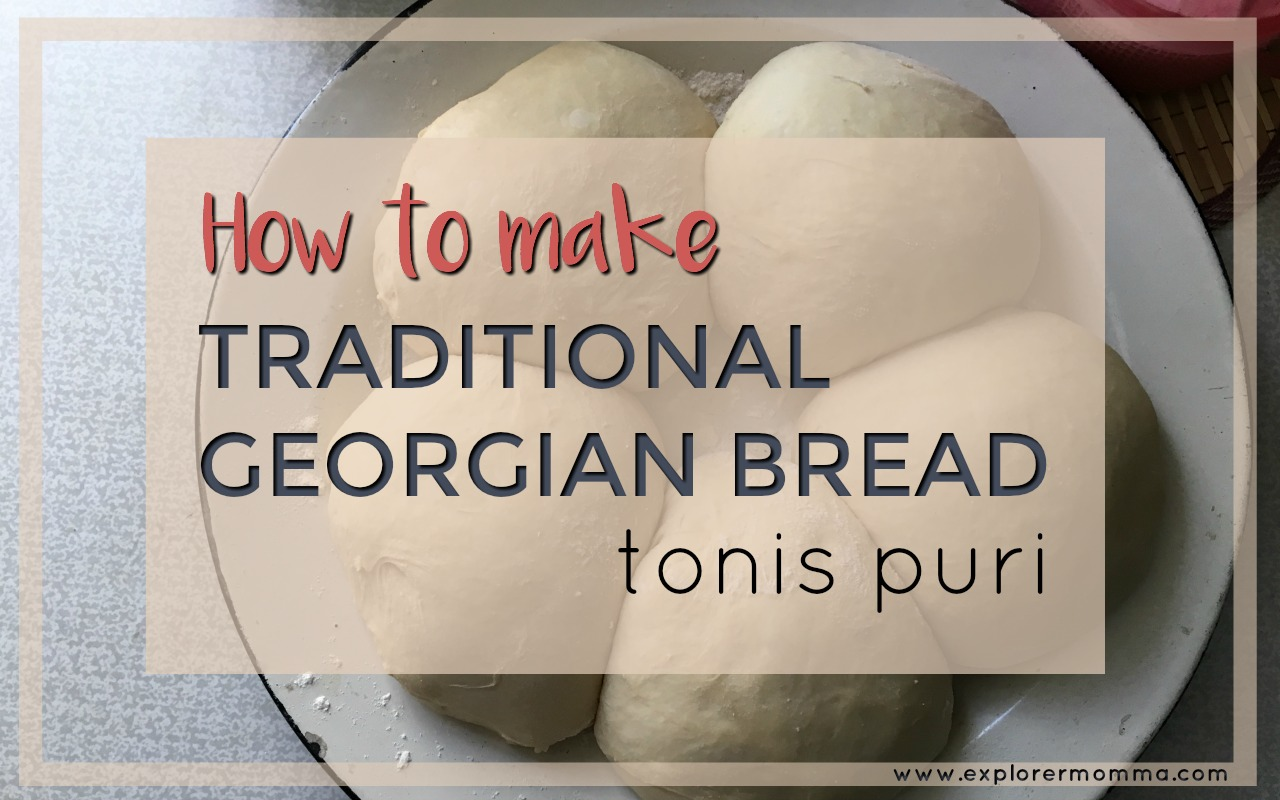 Traditional Georgian Bread, Tonis puri feature