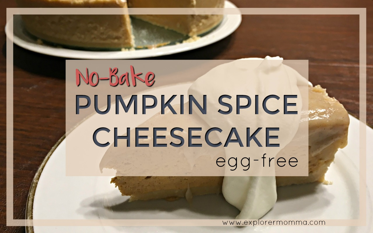 No-bake pumpkin spice cheesecake feature
