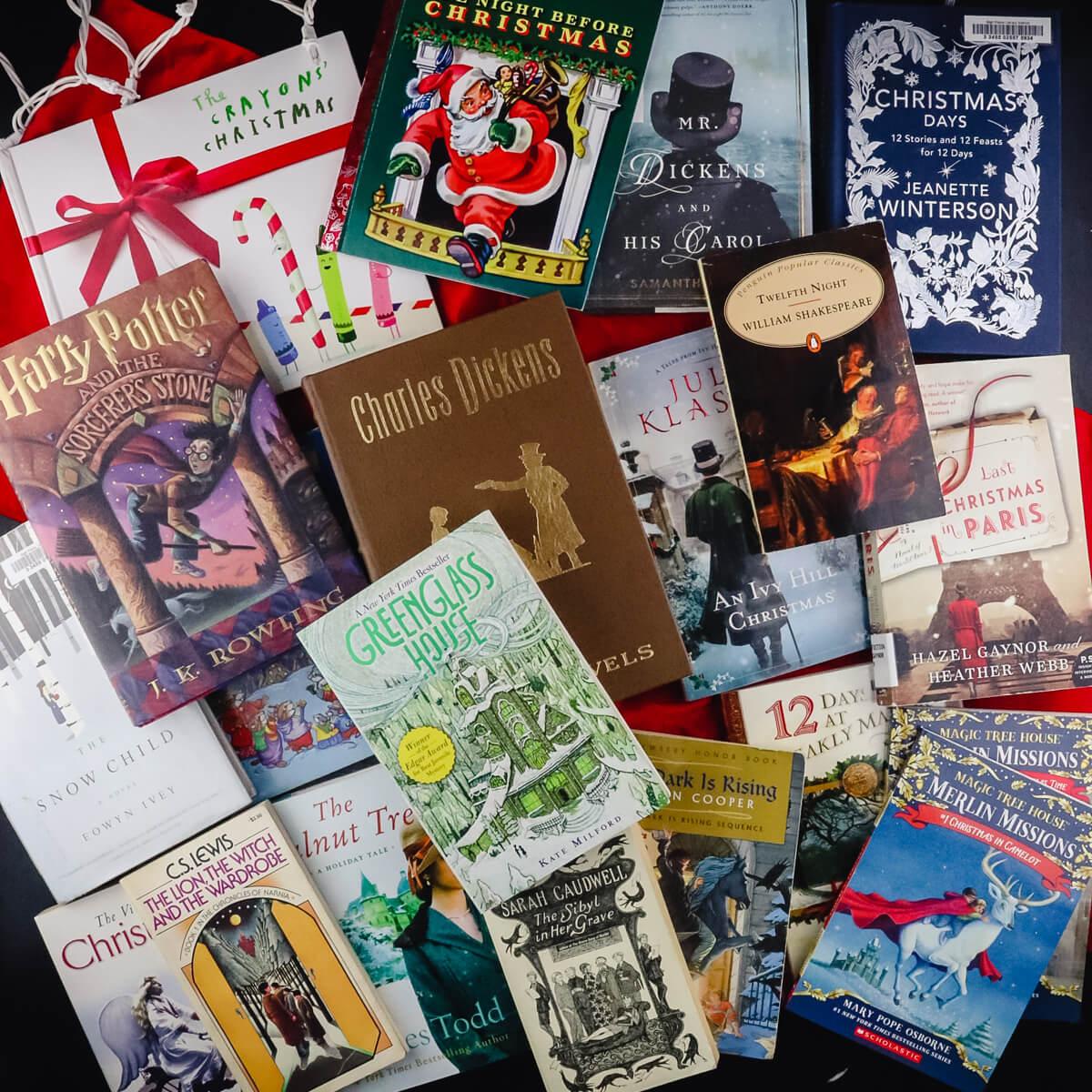 Christmas books for winter