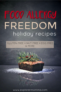 Food allergy freedom pin