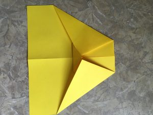Best paper airplane ever, small triangle