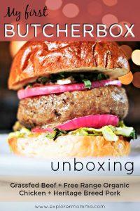 ButcherBox unboxing pin