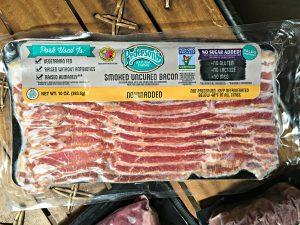 ButcherBox unboxing bacon