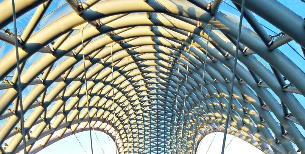 Tbilisi, Georgia Peace Bridge
