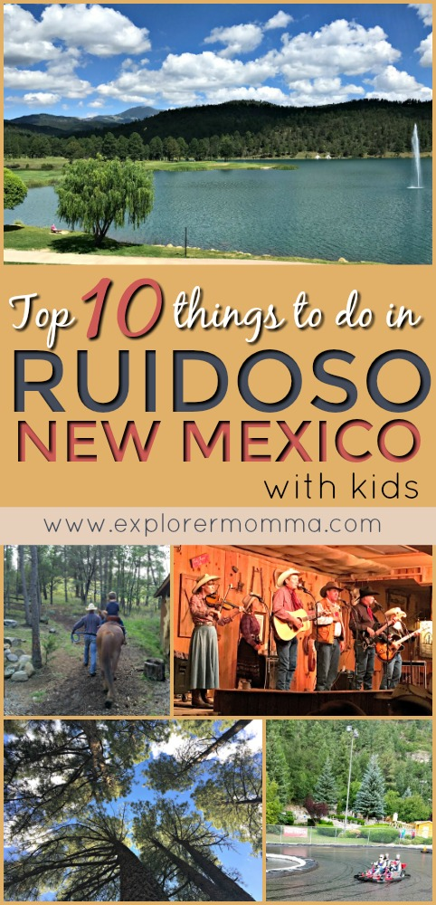 Are you planning a fun family vacation to escape from the noise of the everyday? Perfect for family reunions and getaways, check out my top 10 things to do in Ruidoso, New Mexico with kids.