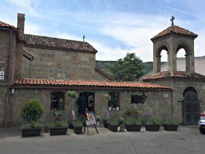 Metekhi Church entrance