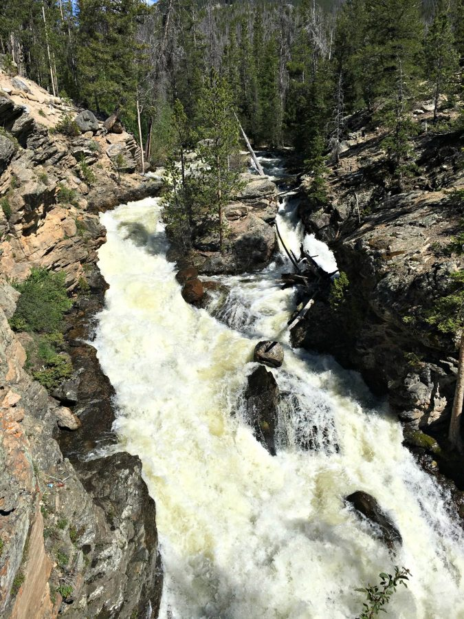 Adam's Falls, Things to do in Grand Lake, Colorado