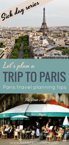 Let's plan a trip to Paris, the Eiffel Tower and Deux Magots