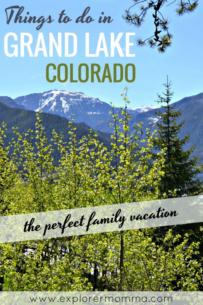 Things to do in Grand Lake Colorado with kids. A perfect family vacation spot at the cabin for fishing, kayaking, hiking and family adventures! #coloradotravel #familytravel