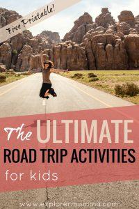 Ultimate road trip activities for kids