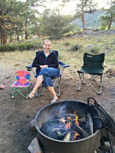 Family camping checklist picture, campsite