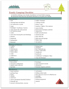 Family camping checklist preview1