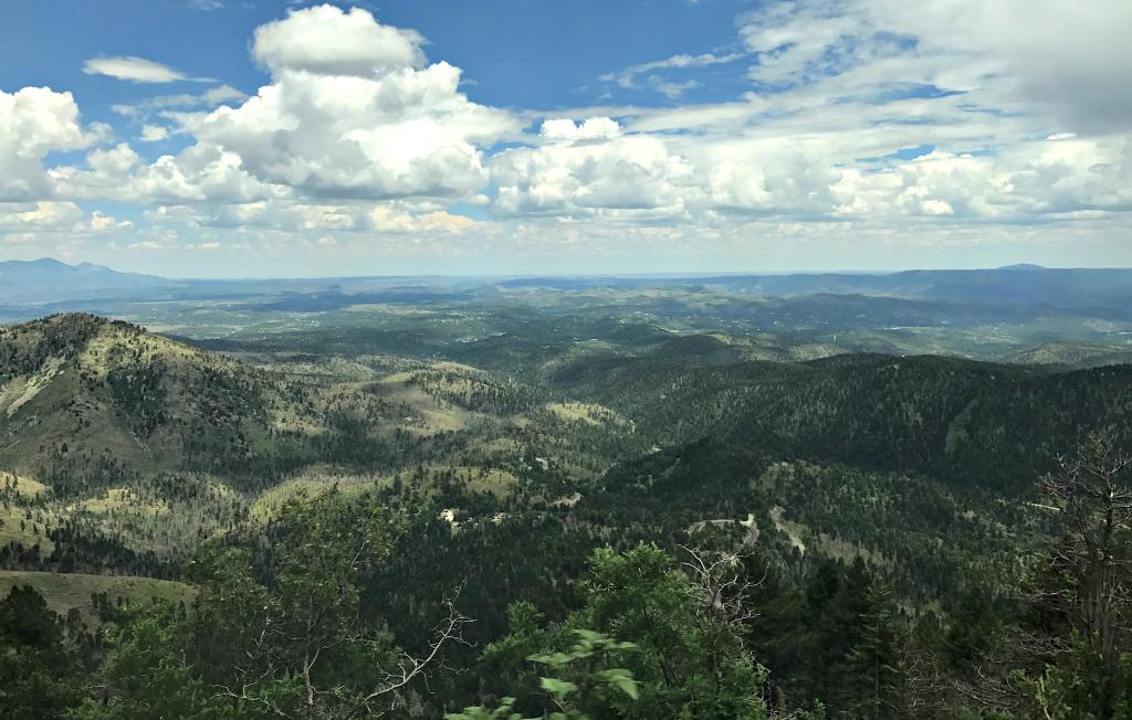 Ski Apache view, Ruidoso, New Mexico
