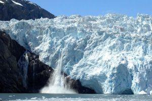Kenai Fjords National Park, glacier calving