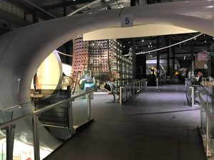 Corning Museum of Glass upper level #cmog #corningny