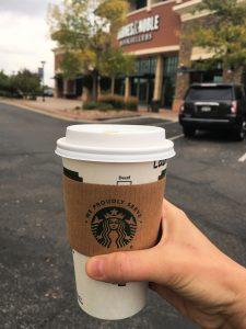 Sugar free latte with almond milk at Barnes and Noble #booksandcoffee #ilovebooks #explorermomma