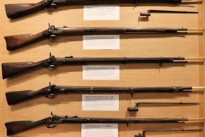 Tioga History Museum, muskets #tiogahistorymuseum #15thingsowego #experiencetioga #artstrailtioga #explorermomma