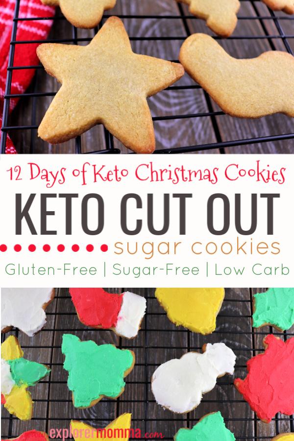 Keto cut out sugar cookies