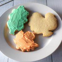 Keto cutout sugar cookies