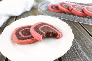 Low carb chocolate pinwheel cookies, keto and gluten-free tea cookies are easy and delicious! #glutenfreecookies #lowcarbdesserts