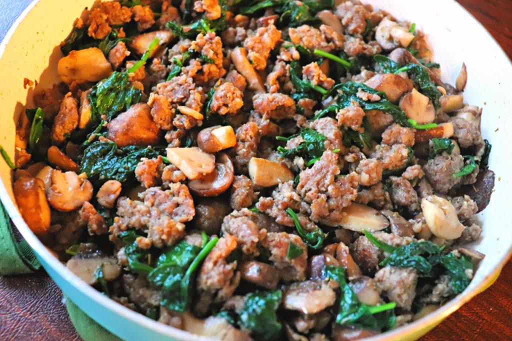 Keto Zucchini Lasagna, meat and veggies #lowcarbrecipes #ketorecipes
