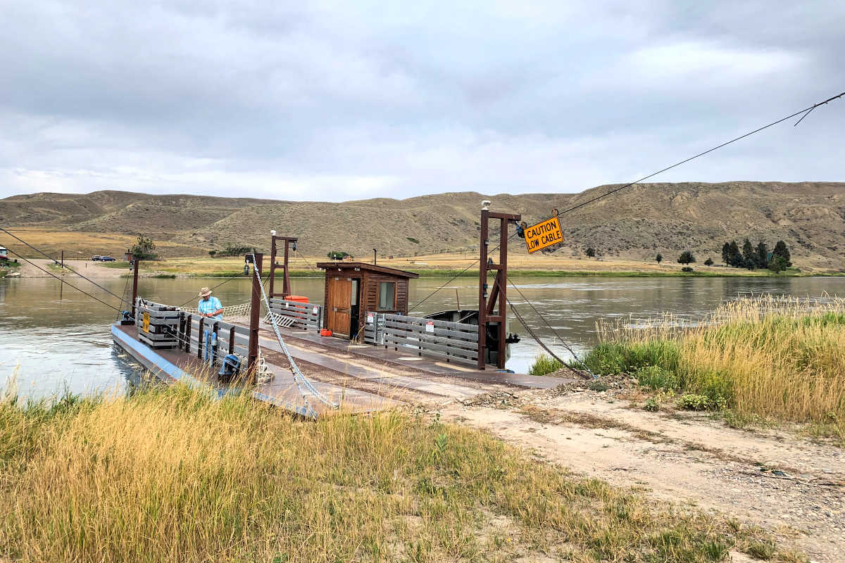 Carter's Crossing, near Fort Benton Montana