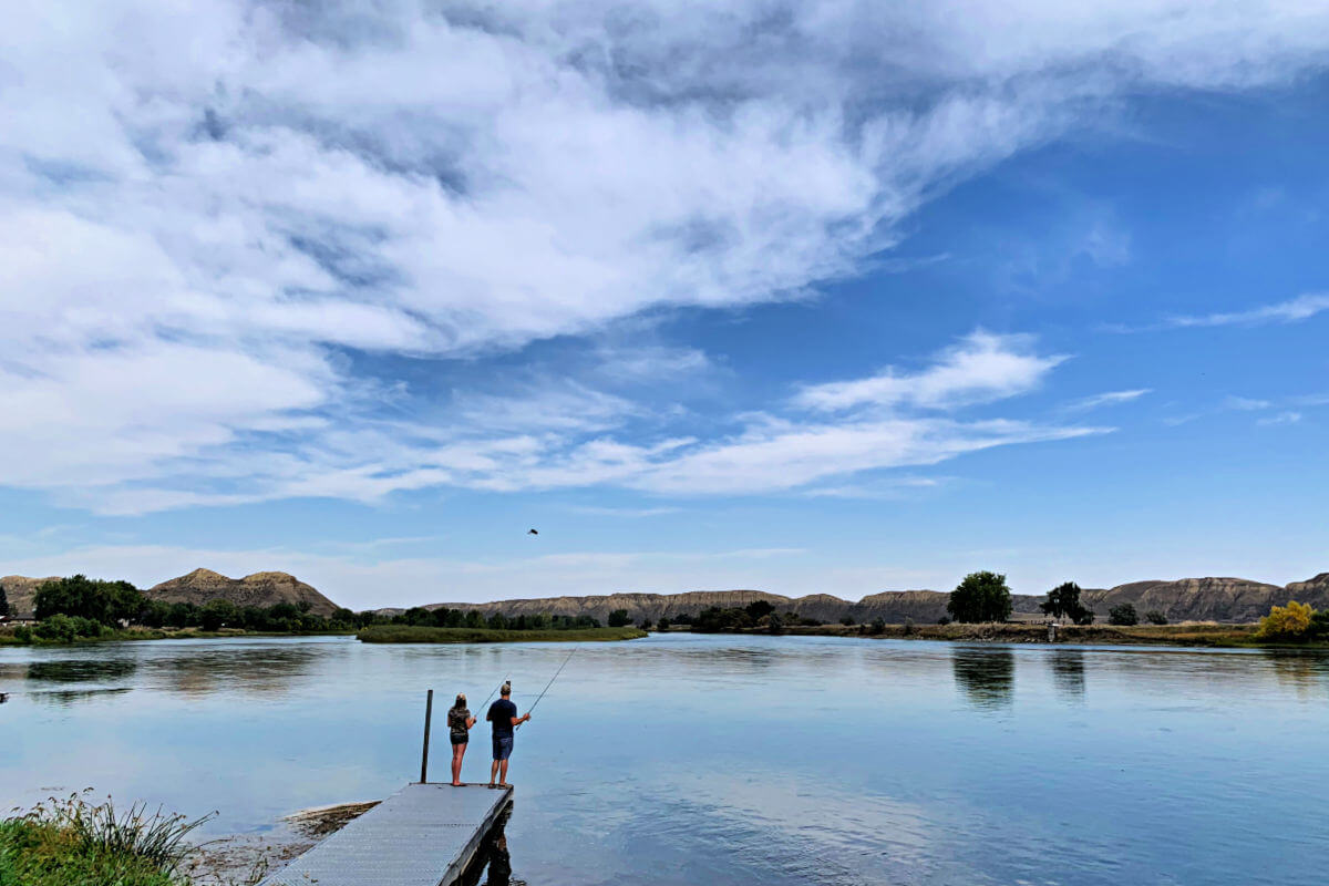 Things to do in Fort Benton, fishing Montana vacations