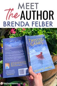 Meet the author Brenda Felber in Explorer Momma's new author series! The Pameroy Mystery series is for middle-grade, and each book takes place in a different state! #meettheauthor #middlegradebooks #booklist #authors