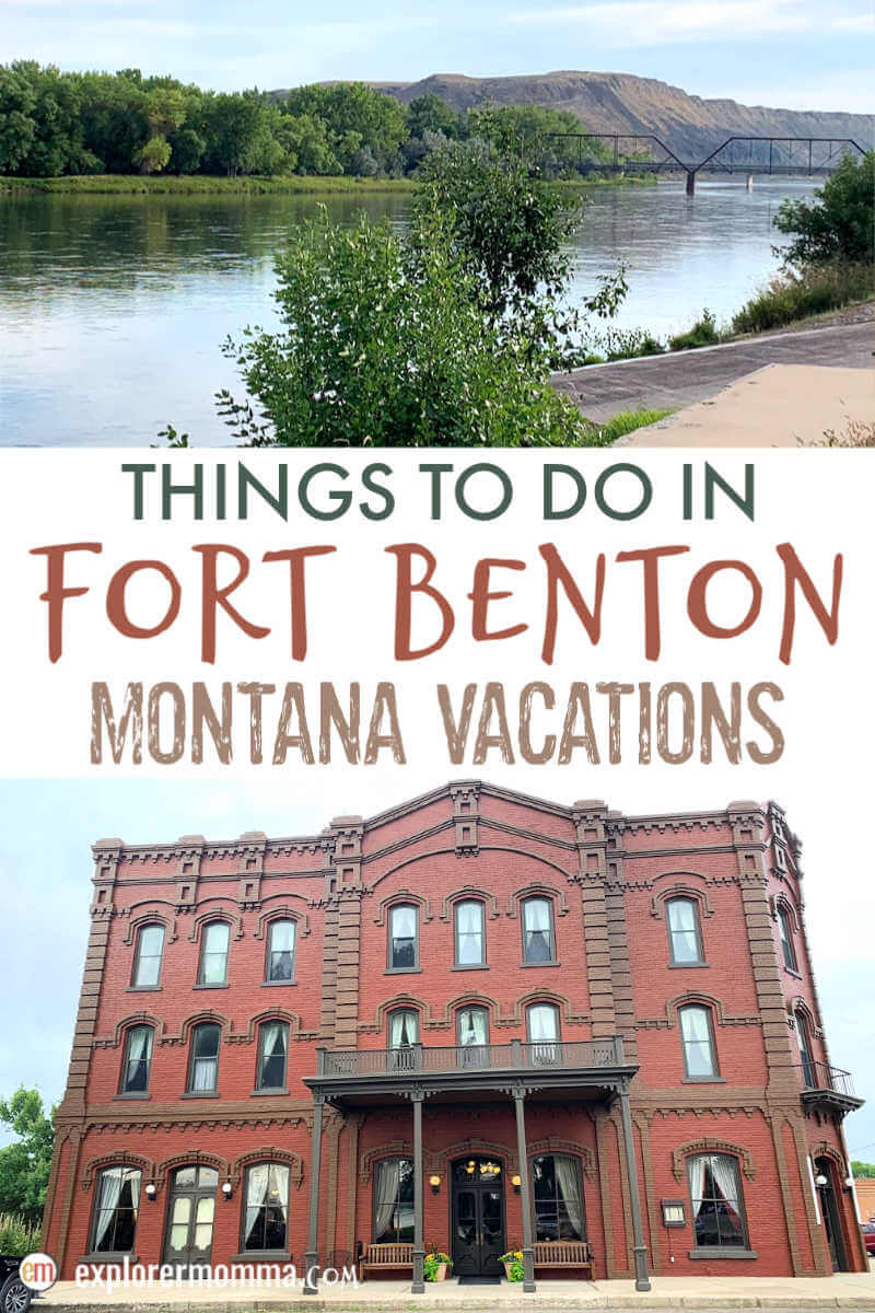 Best things to do in Fort Benton MT. Must-do Montana Vacations for families with recreation, history, and welcoming locals. The perfect stop in Montana for family travel. #visitmontana #montanatravel #centralmontana