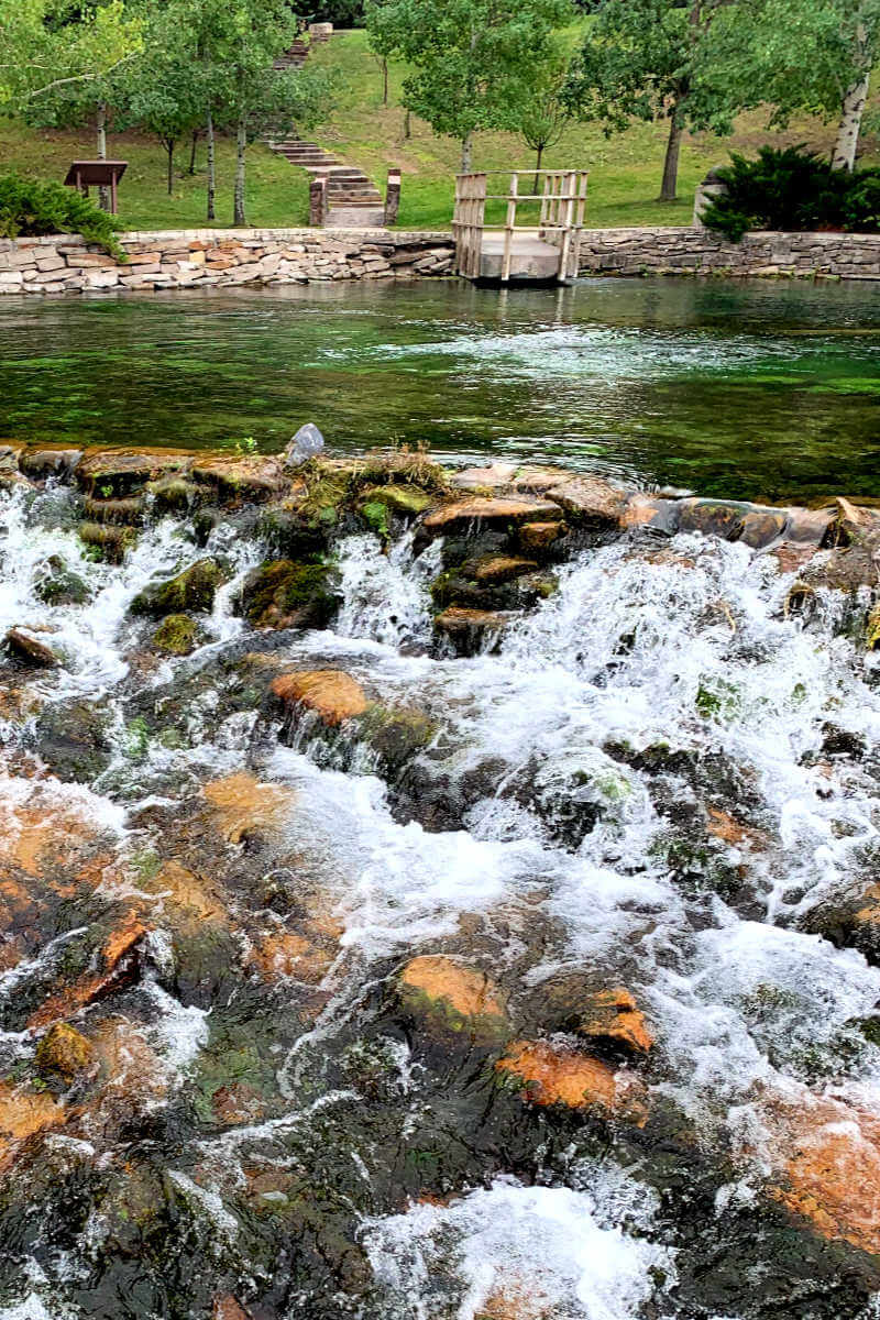 Giant Springs State Park, spring, things to do in Great Falls MT #giantsprings #greatfallsmt