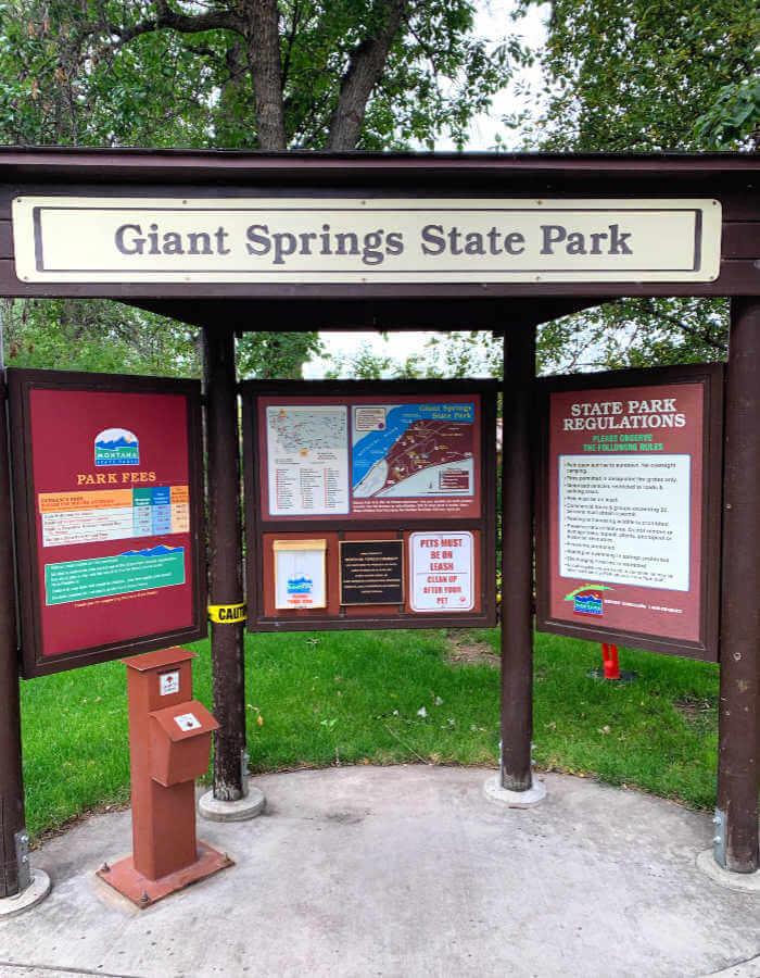 Giant Springs State Park, Things to do in Great Falls MT #giantspringsstatepark #greatfallsmt #montana
