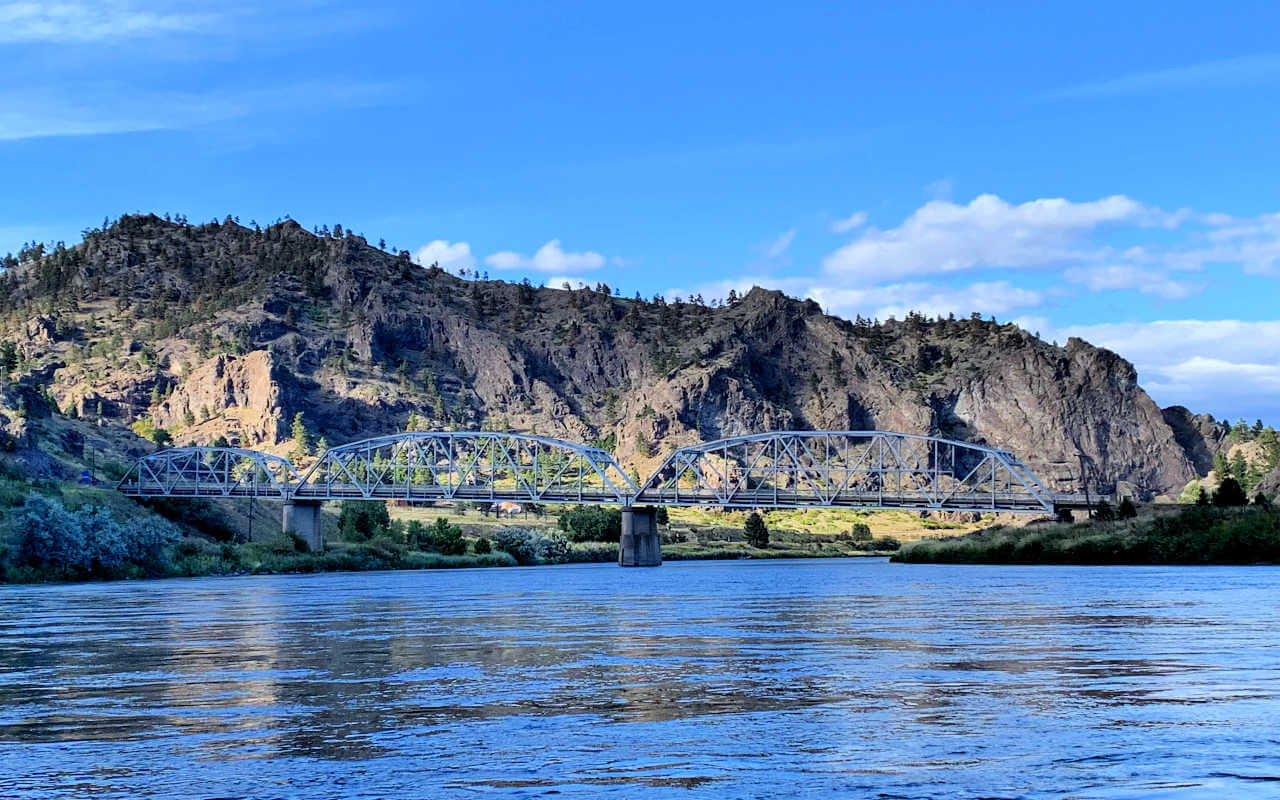 Hardy Bridge from The Untouchables Missouri River #montanariveroutfitters