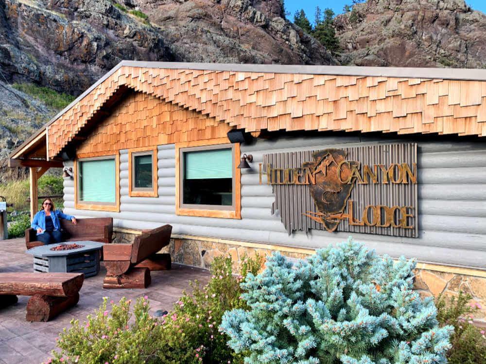 Hidden Canyon Lodge, front #hiddencanyonlodge