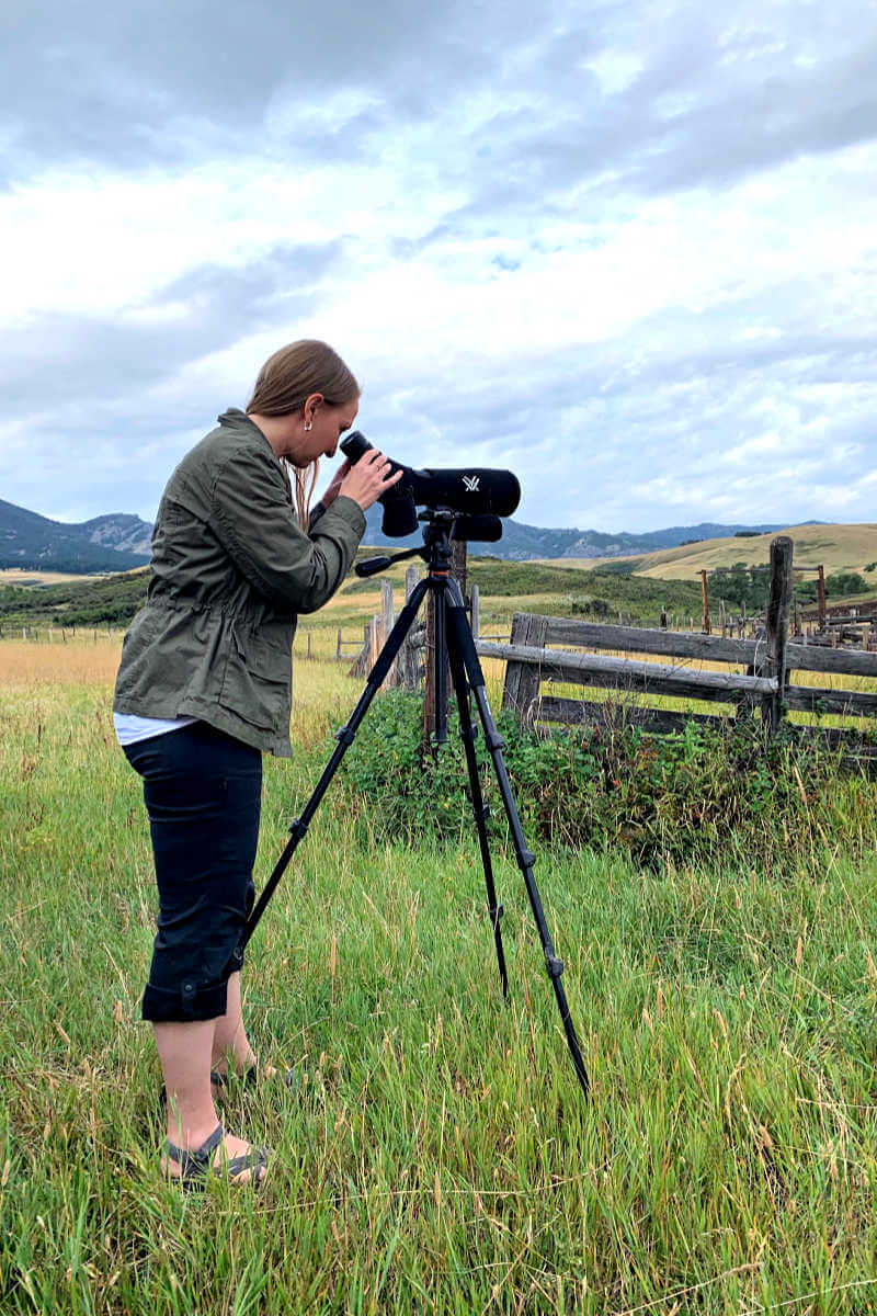 Lauren at Goshawk Ecotours, Things to do in Great Falls MT #goshawkecotours