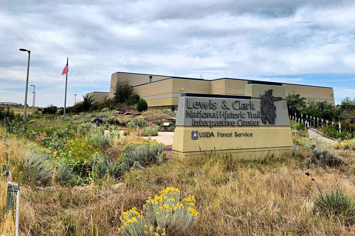Lewis and Clark Interpretive Center, Great Falls MT #greatfallsmt #centralmontana
