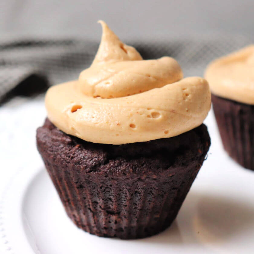 Divinely decadent keto peanut butter frosting is perfect for a low carb birthday treat or special occasion. #ketotreats #ketobirthday #ketorecipes