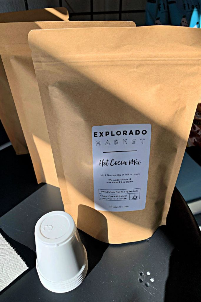 Explorado Market hot cocoa mix