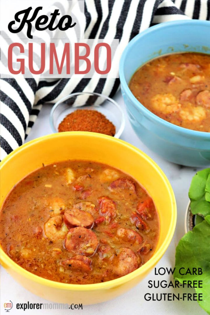 Head south with the delicious cajun keto gumbo recipe. Creole spice and flavor while low carb and ready to transport you to Louisiana.