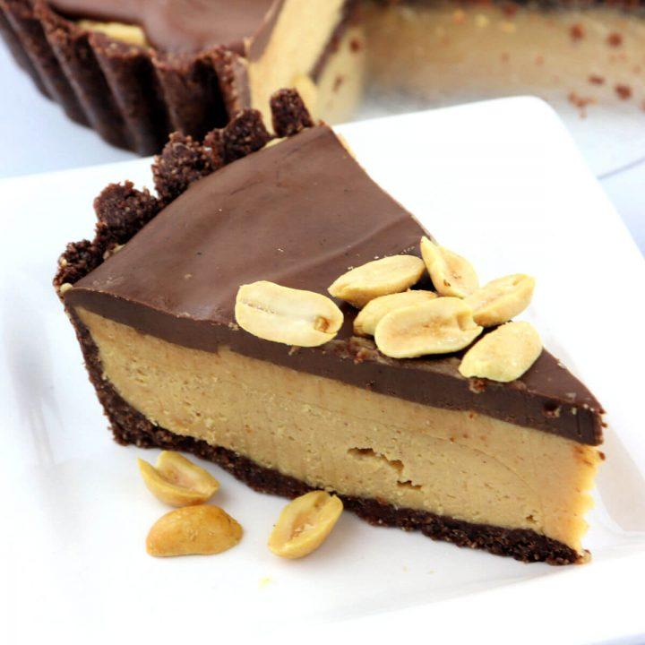 Keto Peanut Butter Pie