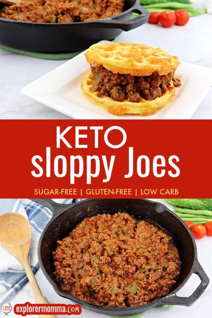 Keto sloppy Joes